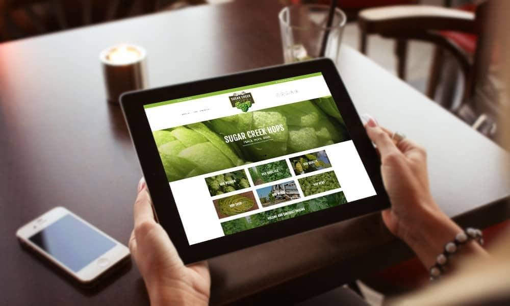 Sugarcreek Hops Website