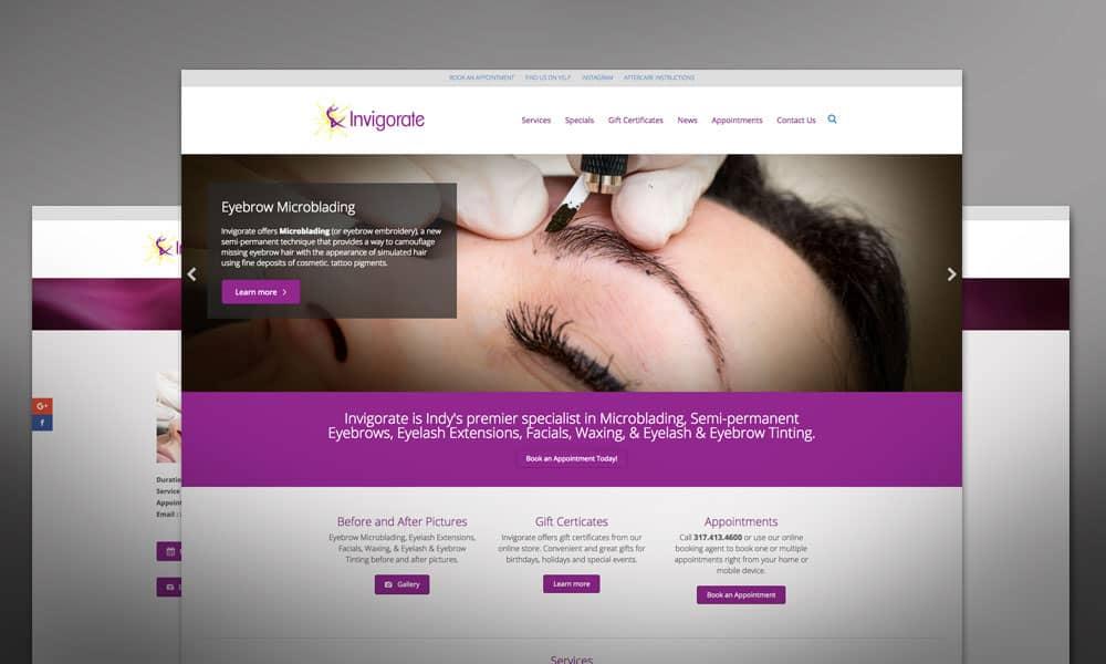 Invigorate Website