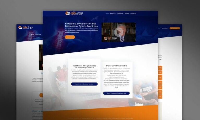 The Clark Group Associates Website