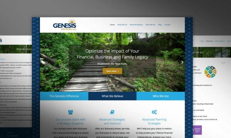 Genesis Advisors Website