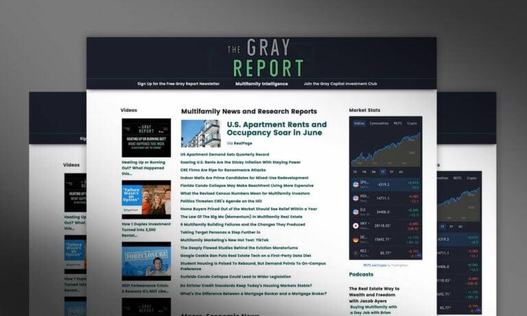 Gray Report Website