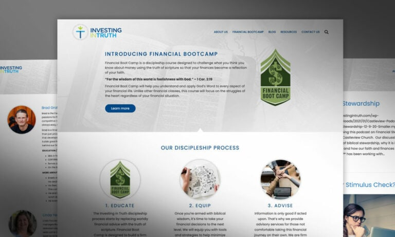 Investing in Truth Website
