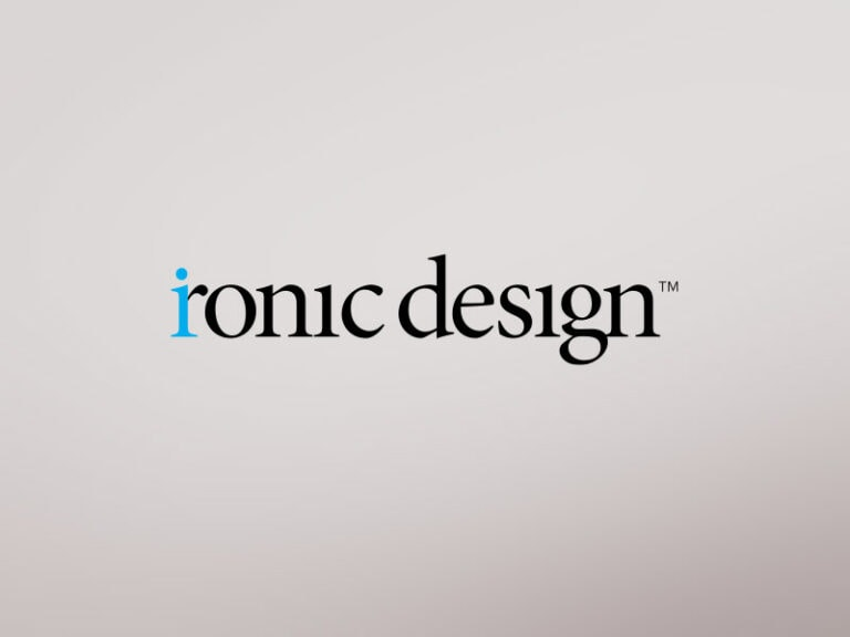 Ironic Design