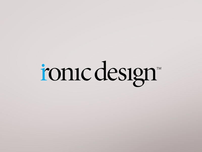 Ironic Design Logo