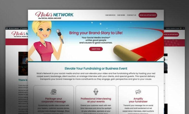 Nicki's Network Website