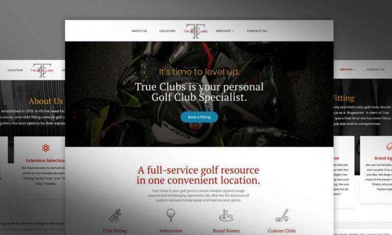 True Clubs Website