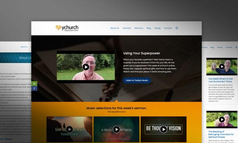 yChurch Website
